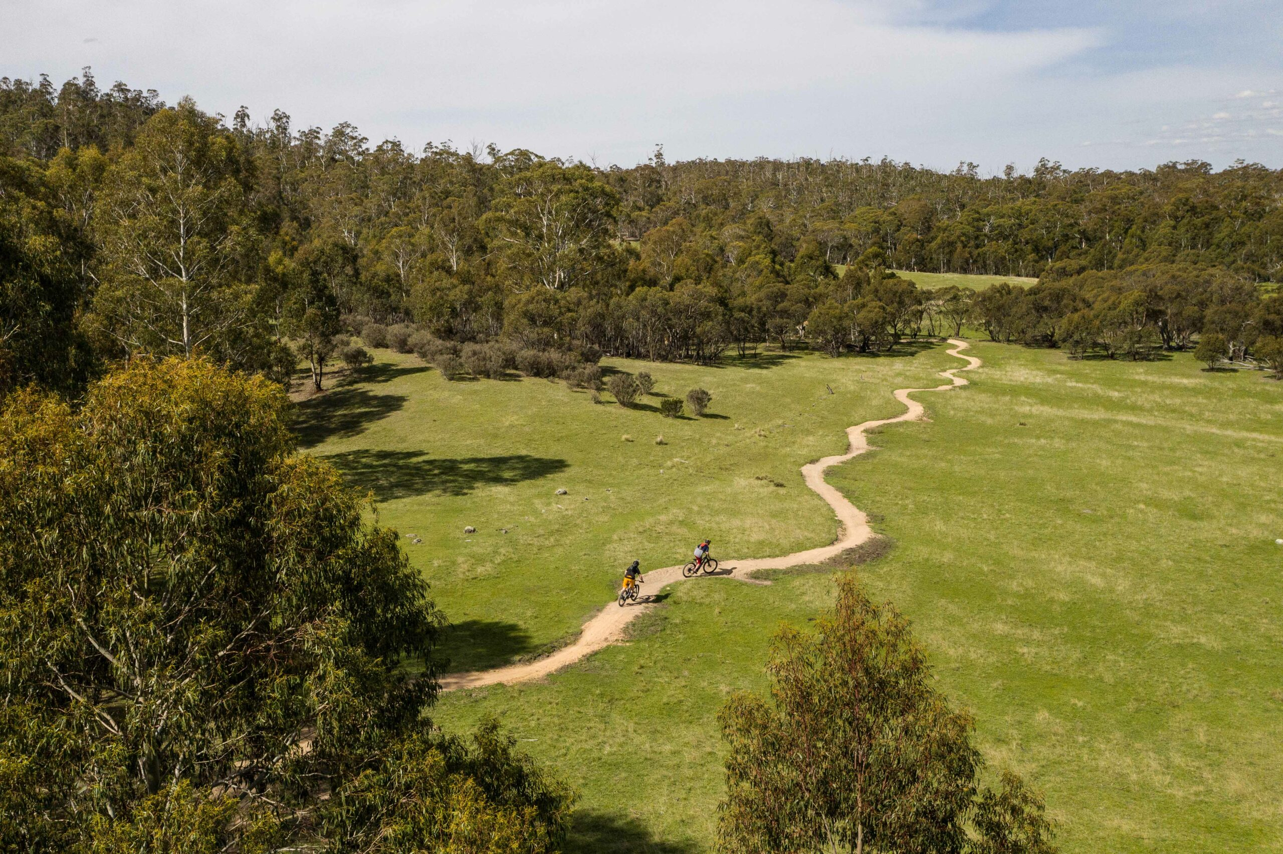 The Thredbo Valley Track is Known for Being Fun and Flowy